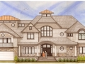 Propossed Rendering of Front of House